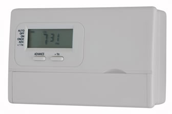 energy efficient programmable thermostat