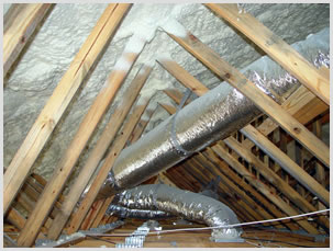 seal the attic space